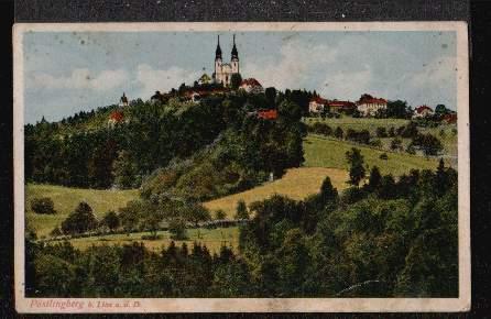 Linz a.d. Donau. Pöstlingberg