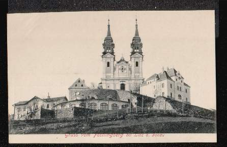 Pöstlingberg bei Linz. Gruss aus.