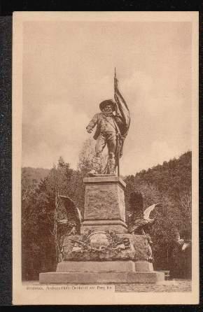Innsbruck. Andreas Hof er Denkmal am Berg Isel.