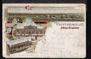 Truppenübungsplatz Altengrabow. Gruss aus..