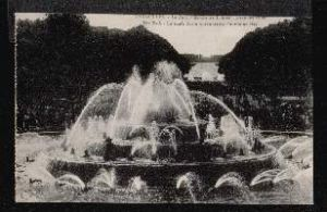 Versailles. The Park. Latones Basin when Great Fountains.