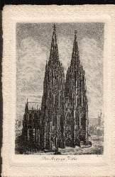 Köln. Der Dom. Westseite 0