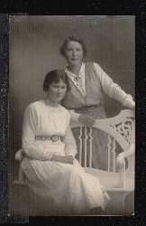 Zwei Frauen. Foto