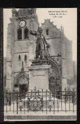 ARCIS SUR AUBE. Statue de Danton