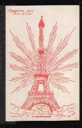Exposition 1937. Tour Eiffel. 0