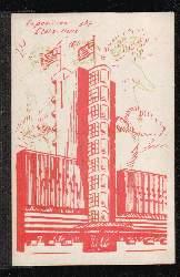 Exposition 1937. Etats Unis. 0