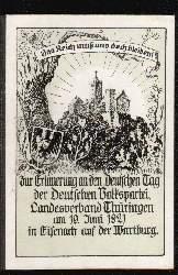 Zur Erinnerung an den Deutschn Tag der Deutschen Volkspartei