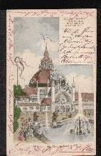 Düsseldorf 1902. Industrie Gewerbe Nationale Kunst Ausstellung