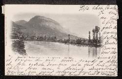 Grenoble. Le Saint Eynard et la Dent de Crolles.