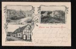 Hohlenweg Hösel. Restauration und Gartenwitschaft