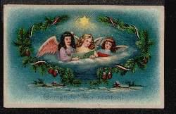 Engel. Gesegnete Weihnachten