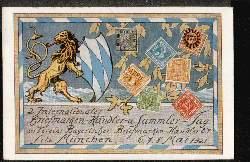 2.internationale Briefmarkenhändler und Sammlertag 1921
