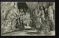 Adelsberger Grotte. Gang zum Tanzsaal.