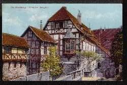 Eisenach. Die Wartburg. Vorderer Burghof