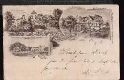Heldburg. Gruss aus…. Schützenhaus, Bahnhof, Veste Heldburg