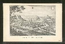 Jena im Jahre 1650. Nach Merian.