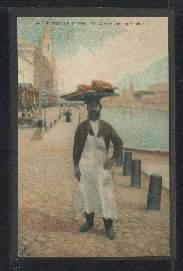 Ein Wassermelonenhändler. Russische Typen