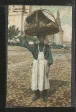 Geflügelhändler. Russische Typen