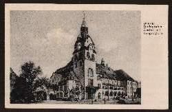 Leipzig. Zoologischer Garten mit Kongresshalle.