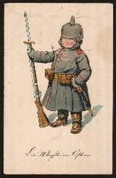Kind als Soldat