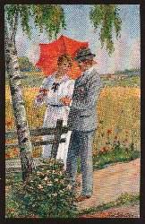Ein glückliches Paar. Künstler Schneider R.
