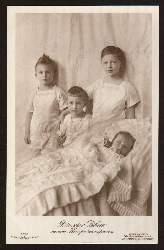 Die vier Söhne unseres Kronprinzenpaares