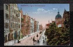 Kattowitz. August Schneiderstrasse. Synagoge