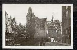 Praha. Synagoga