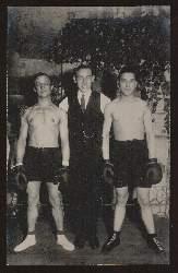 Boxer. Ernst Schumann. Hamburg 1922