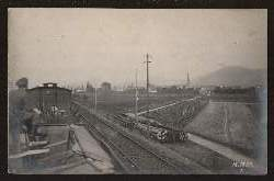 Eisenbahn. I Weltkrieg. Foto
