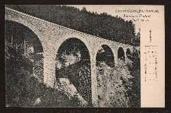 Tauernbahn Nordrampe. Steinbach Viadukt