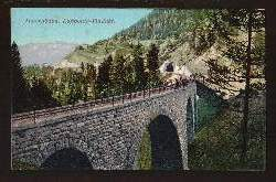 Tauernbahn. Kapponig Viadukt