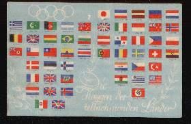 Die Flaggen der teilnehmenden Länder