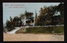Deutsch-Südwest-Afrika. Gouvernements-Haus, Windhuk