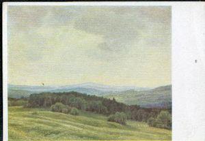 Willy Ter Hell. Sommer im Böhmerwald. Aus der Großen Deutschen Kunstausstellung 1941 im Haus der Deutschen Kunst zu München.