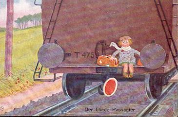 Der blinde Passagier.