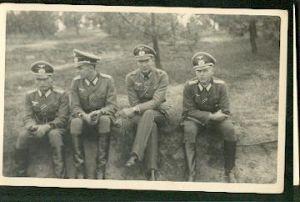 Soldaten. Foto. II WK.