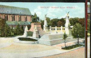 Breslau. Denkmal Kaiser Wilhelm I.