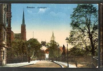 Breslau. Dombrücke.