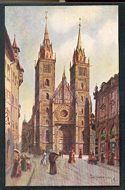 Nürnberg. Lorenzkirche.
