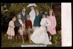 USA. President Roosevelt amd Family.
