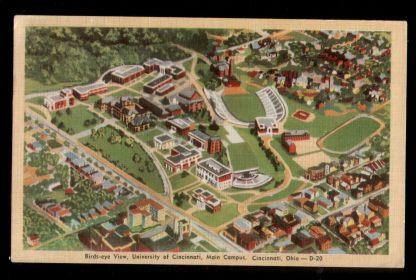 USA. Ohio. Cincinnati. University of Cinncinati.