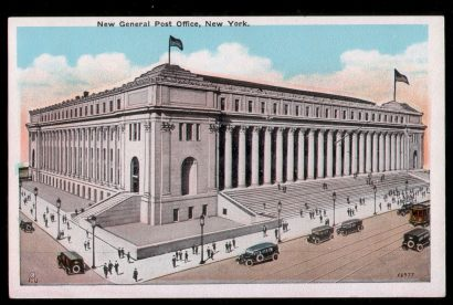 USA. New York. New General Post Office