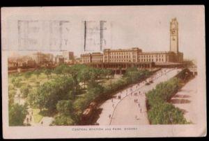 Australien. Sydney. Central Station and Park.