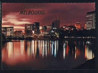 Australien. Melbourne