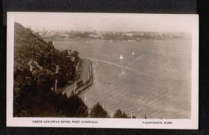 Australia. Perth. Perth and Swan River