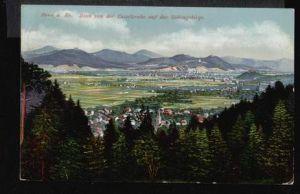 Bonn. a. Rh. Blick von der Casselsruhe auf das Siebengebirge