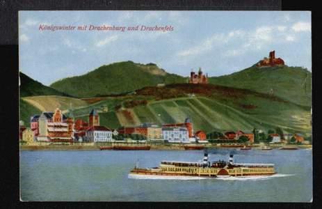 Königswinter. mit Drachenburg und Drachenfels