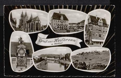 Heilbronn. Gruss aus. a. Neckar