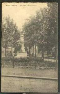 Mons Bergen. Denkmal Antoine Clesse